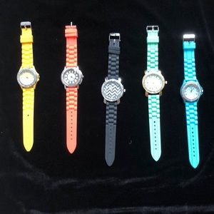 Accessories - Silicone big face watches